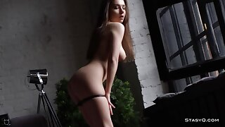 Simply Outright Bodied Russian Dancer Strips & Teases
